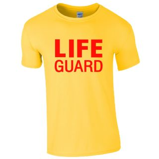 LIFE GUARD YELLOW T-SHIRT